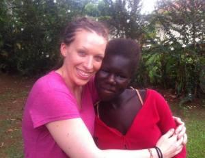 Sara in Uganda 2014