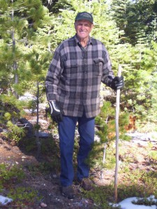 Grandpa Hugh, the woodsman